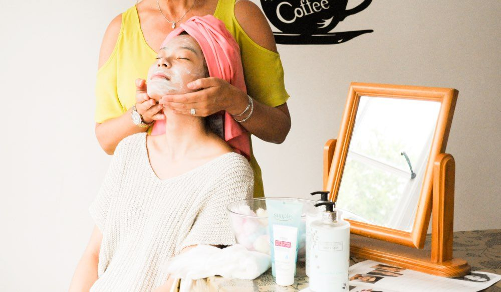inset 1 a relaxing facial