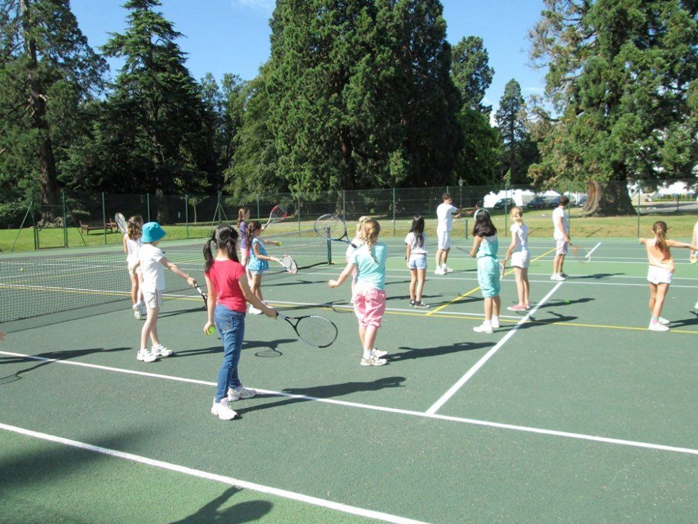 inset 2 tennis lesson